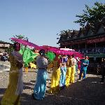 傣族园里的民族特色活动