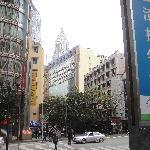 重庆渝中区的核心地带