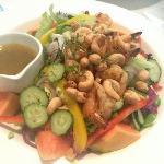 鲜虾木瓜沙拉
