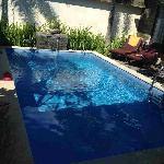 房间里的泳池