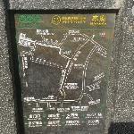 木府门口的导游图