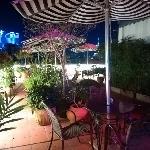天台花园夜景