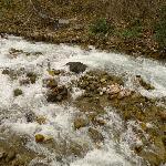 景区里的小瀑布