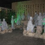 扬州八怪群雕