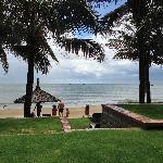 酒店自己的海滩