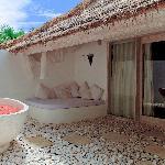 私人室外大浴室~超级有feel~一共有两间私人浴室