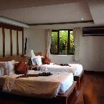 villa中的楼下卧室