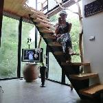 观星阁的楼梯