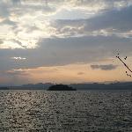 黄昏千岛湖