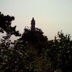 盘山挂月峰