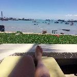 酒店私家海滩,小泳池