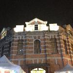 夜幕下的西门红楼