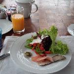 酒店非常棒的早餐