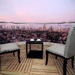 行政两房式公寓-阳台