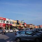 瓜镇中心街景