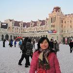冬日的广场