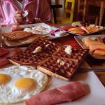 超豐盛的早餐