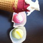 抹茶脆皮 覆盆子葡萄冰糕