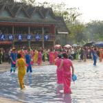 傣族园泼水狂欢节目