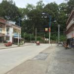 墨脱县城街景