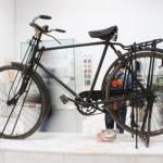 展览的自行车