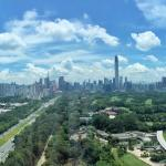 Shenzhen city skyline - love this view