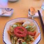 豆腐汤里不是嫩豆腐,服务员老扎堆聊天,除此其他都非常满意!