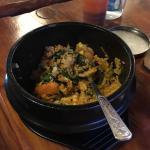 在瓦纳卡镇的一家韩国料理店,味道还不错!就是分量有点小!一个人吃不饱!