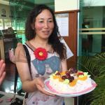 酒店免费赠送生日蛋糕