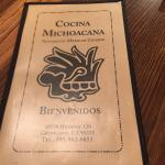 Photo of Cocina Michoacana