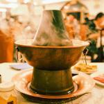 铜锅底,很有老北京特色