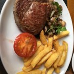 i have ordered a steak,really good. good environment and wonderful service!