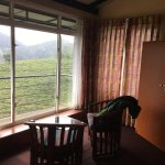 very good room design, big space with TV! our room is 101, wonderful mountain  view. shower wate