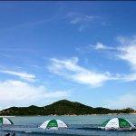 青澳湾碧海蓝天沙滩