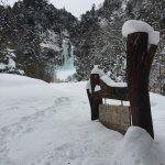 冬天的瀑布