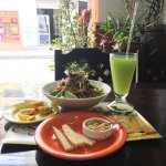 It's an amazing place. And the food is perfectly combined with vegetables, noddle and beef. The