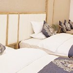 床很舒服,特别喜欢花纹图案的设计