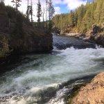 Photo of Lower Yellowstone River Falls