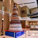 酒店大堂圣诞树好喜欢