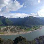 Yarlong Tsangpo River Foto
