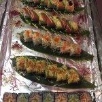 星期日自助寿司20多种新产品,让人感觉好满足