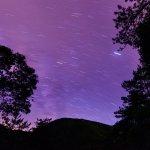 位于浙江丽水市龙泉市凤阳山的龙泉山拍星空最美不过了,看到星空