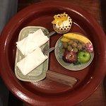 欢迎零食和水果