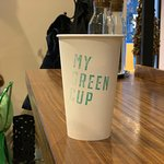 Photo of My Green Cup