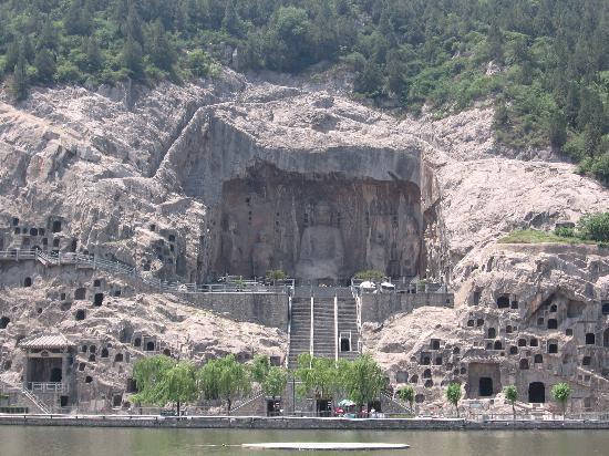 Luoyang, Cina: 龙门石窟奉先寺