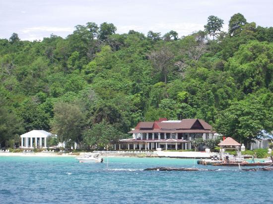 Maiton Island Resort: 神木岛