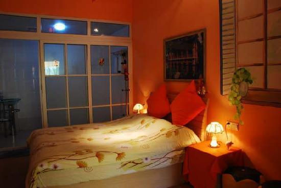 Gulangyu Xilinge Coffee Hostel: 这是我们住的房间