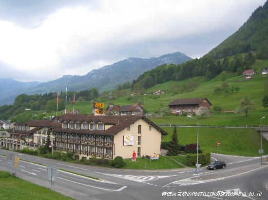 Buochs, Switzerland: 诗情画意般的 Hotel Poetillon