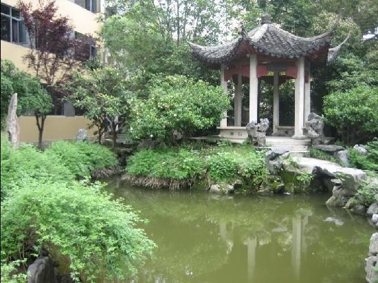 Wanhoo Hotel (Hangzhou Huanglong) : 花园凉亭