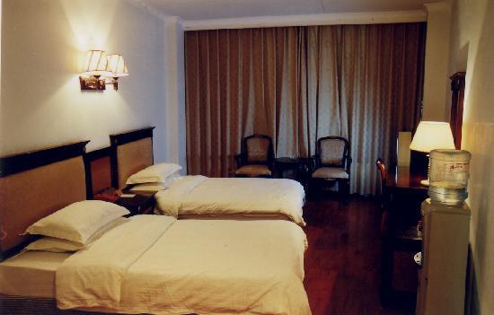 Jinlong Hotel : 这是我入住的客房